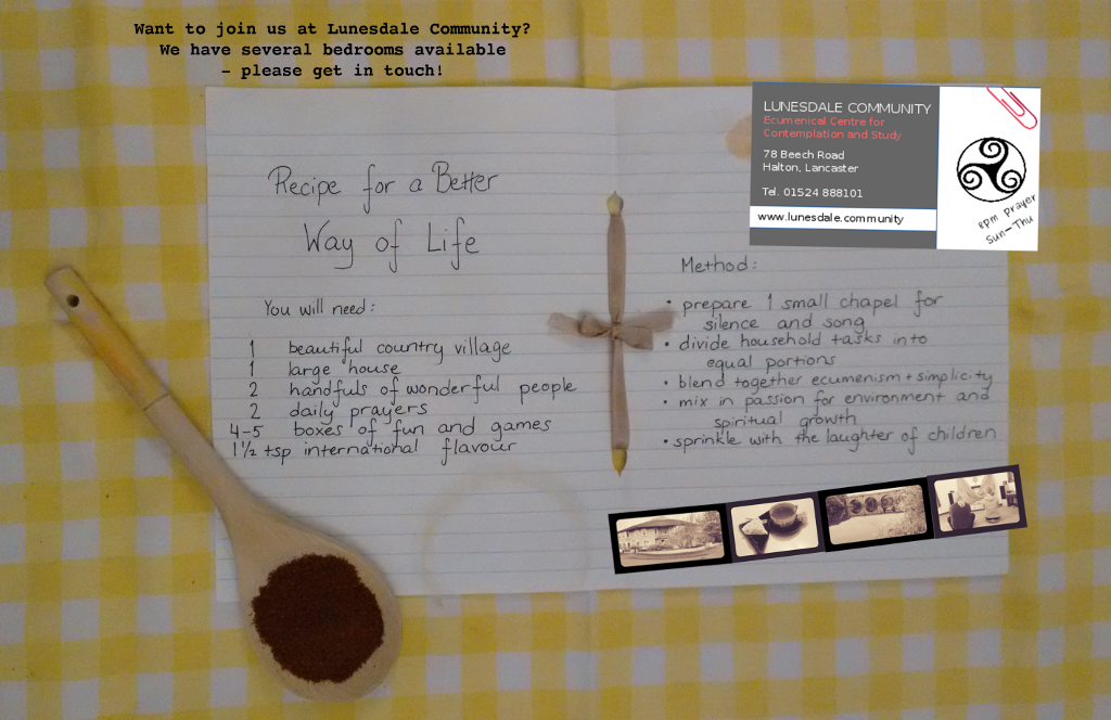 Recipe for a better life